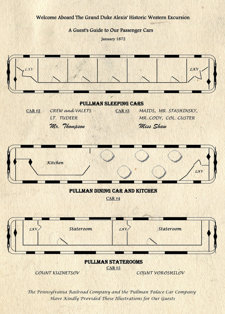 pullman car diagram